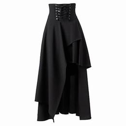 Discount Black Steampunk Skirts | 2017 Black Steampunk Skirts on ...