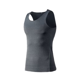 Wholesale gym sharks resale online - Gym Clothes Shark Clothing Cheap Gym Tank Top Men s T Shirt Sport Vest Fitness Tights Compression Tops