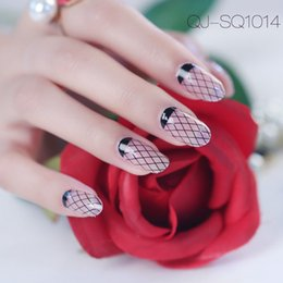 Barato Coração Adesivo-New Nail Art Stickers Decorações Adhesive Leopard Heart Net Love Lines Imagens Decalques Manicure Nails Beauty Stickers Gift 2017