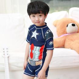 15cdb3b055008 New 2017 Fashion Boys Swim Suits One-Pieces With Swim Cap 2pcs Sets kids  Hot Spring Swimwear Star Boy Swimsuits Set A6375