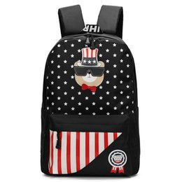 China Fashion School Bag New Style Student Backpack For Women Girl Daypack Cartoon Schoolbag Pretty Gift Free Shipping suppliers