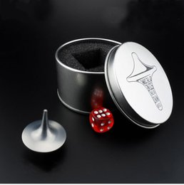 $enCountryForm.capitalKeyWord NZ - Inception Movie Spinning Top Toys Stainless Steel Totem Gyro Zinc Alloy Spinning-Top Hand Spinner Toy Silver Color