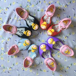 $enCountryForm.capitalKeyWord Australia - DHL FREE Mini Melissa Shoes 2017 Summer girls Jelly Crystal Sandals Clogs Cute Girls shoes Children Mitch Baby Girl Cross shoes mini melissa
