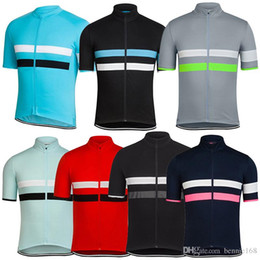 $enCountryForm.capitalKeyWord Canada - 7 Colors 2017 RCC Cycling Tops Short Sleeves Cycling Jerseys Shirt Two Stripe Summer Style For Men Women Size XS-4XL