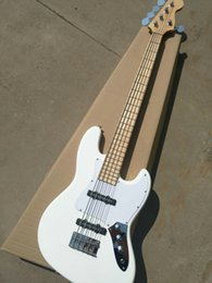 online shopping guitars Custom Shop string bass guitar JAZZ PRECISION BASS OEM Customizable neck through body exclusive LOGO Chrome