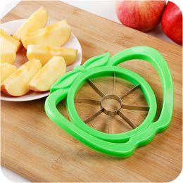 slicer easy cutter 2019 - Corer Slicer Easy Cutter Cut Fruit Knife Cutter for Apple Pear Free Shipping OTH321 discount slicer easy cutter