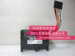 6cm Fan Australia - Sanyo 9CR0612P0J50 12V 4A 6CM 6076 super violent refitted radiator fan