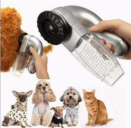 pets vacuum 2019 - 50pc Electric Pet Hair Remover Dog Grooming Brush Vacuum Clean Trimmer Pet Dog Cat Shed Pal Electric Vac Hair Remover Gr