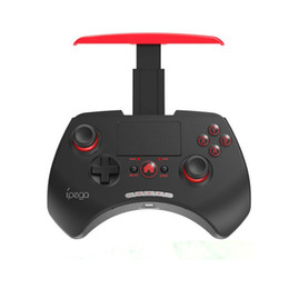 Iphone wIreless controller online shopping - iPega wireless bluetooth game controller joystick gaming vendedor with touchpad For iPhone iPad Android PC In Retail Packing