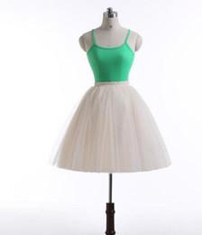 $enCountryForm.capitalKeyWord NZ - Hot Sale Short Tulle Tutu Skirts For Women Mini Length Real Image 7 Layers Custom Made Top Quality Cheap Formal Skirt