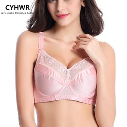 65858f4966229 Plus Size Bras 46E 100G 110H Big Breast UltraThin Full Cup Push Up Bras  Without Pads 34 75-48 110BCDEFGH 4Colors