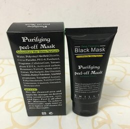 acne purifying peel off black mask NZ - Black Suction Mask Anti-Aging 50ml SHILLS Deep Cleansing purifying peel off Black face mask Remove blackhead Peel Masks Free DHL
