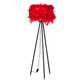 $enCountryForm.capitalKeyWord Australia - White LED optional feather floor light lamp With brandreth trippod leg standing foyer living bedroom floor table light lamp
