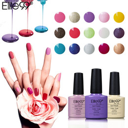 Barato Led Gel Lamp Venda-Hot Sale Elite99 7.3ml Soak Off Gel de unhas Long Lasting UV LED Lamp Cosmética Art Manicure Nail Gel for Nail Art Limited
