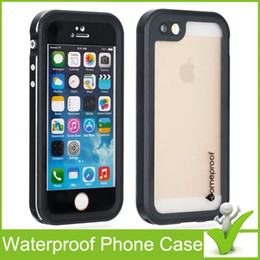 $enCountryForm.capitalKeyWord NZ - For iPhone 5 5S SE Fre Waterproof Phone Case Shock Proof Retail packaging High quality New fre Water Dirt Snow Proof protective case