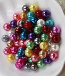 3000pcs lot mixed colors 4mm glass pearl beads for jewelry necklace bracelet earrings