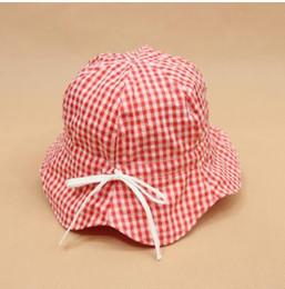 0dd4e16f6eff1 Baby Sunhats Canada - Children cotton summer sunhats fisherman caps baby  cotton outdoor summer hats wholesale