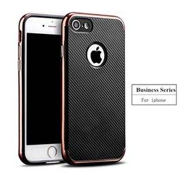 Scratch Resistant Coating Canada - Business affairs Anti-Scratch Anti-fingerprint Shockproof Electroplate Frame with Non Slip Coated Surface Grip Case for iPhone Samsung