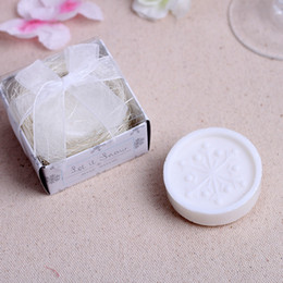 $enCountryForm.capitalKeyWord NZ - Handmade Scented Mini Snowflake Soap Wedding Favors And Gifts For Guests Souvenirs Decoration Event & Party Supplies DHL free shipping