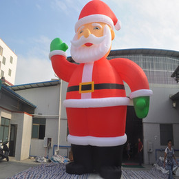 (specialty Store) Inflatable Father Christmas Inflatable Characters  Christmas Decorations Store Display Santa Claus 6 M High