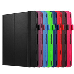 "$enCountryForm.capitalKeyWord NZ - 30pcs Litchi Protective PU Leather Cover Case for Lenovo Miix 310-10ICR MIIX310 MIIX 310 Miix 210 Miix210 10.1"" Tablet + Stylus Pen"