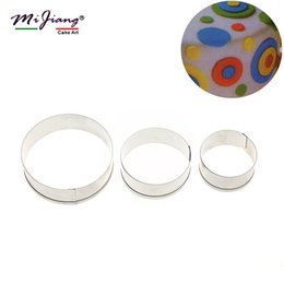 $enCountryForm.capitalKeyWord Australia - Mijiang Stainless Steel Round Shaped Cookie Cutter Set Biscuit Fondant Mould Slicer DIY Cake Decorating Tools Kitchen Bakeware A303