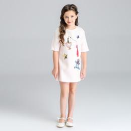 $enCountryForm.capitalKeyWord Canada - Girls Dress 2016 Brand Winter Children Dresses Girls Clothes Long Sleeve Litter Bear Pattern Print Design Kids Dress