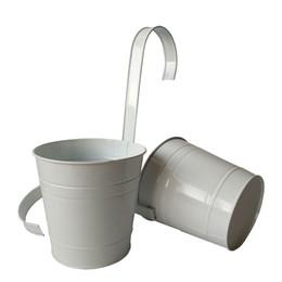 $enCountryForm.capitalKeyWord Canada - Free shippng D15*H14.5CM Super Big SizeHanging bucket Wall Hanging Basket Metal Planter with KD hook hanging flower pot