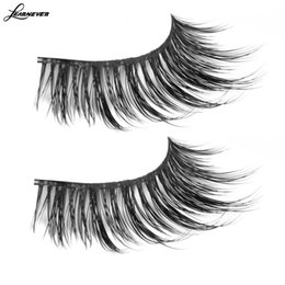 b359d9b160f Mixed Size Mink Individual False Eyelashes Fake Lash Semi Permanent  Extensions