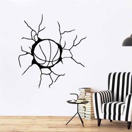 $enCountryForm.capitalKeyWord UK - New Design Basketball Sports Team Game Ball Bedroom Home Vinyl Decals Art Wall Decal Sticker DIY