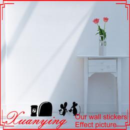 $enCountryForm.capitalKeyWord Canada - MOUSE Amour Love Heart funny wall decal vinyl stickers Valentines decor Art Deco