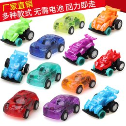 jeep gifts wholesale Canada - Mini car warrior children toy car model 8 transparent candy color gifts