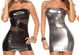 Vente en gros M XXXL Plus Taille Femmes Sexy Lingerie Fétiche Robes Moulantes Pole Dance Night Club Costume Érotique Sous-Vêtements Sans Bretelles Vestidos