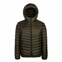 Discount Down Feather Coats Men   2018 Feather Down Winter Coats ...