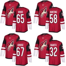8ab5e9f3b ... new style red home adidas authentic jersey 2017 new brand mens arizona  coyotes 32 antti raanta