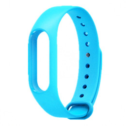 xiaomi miband straps NZ - FOR Xiaomi Mi Band 2 Strap Miband 2 TPU Strap Bracelet Replacement Wristband Smart Band 10 COLOR 20PCS LOT