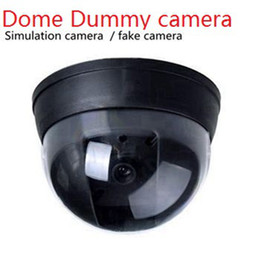 indoor dome camera fake Canada - Wireless Home Security camera Fake Camera Surveillance indoor outdoor Waterproof IR CCTV Dummy Dome fake Surveillance security camera