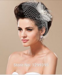 tulle head bridal UK - For Shipping Wedding Head Accessories Vintage Bridal Veils Cathedral On Sale Cheap Beautiful with Beads