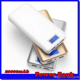 $enCountryForm.capitalKeyWord Canada - 20000mAh Power Bank 2 USB Port Charger External Backup Battery With Retail Box For iPhone LG Samsung Free shipping