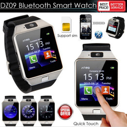 $enCountryForm.capitalKeyWord Australia - 2017 New Smart Watch dz09 with Camera Bluetooth WristWatch SIM Card Smartwatch for Android ios Phones Wearable Devices