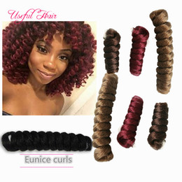curl hair braids Australia - BLONDE EXTENSIONS MARLEY TWIST SYNTHETIC HAIR EXTENSIONS BOUNCY TWIST OMBRE Curl kanekaon synthetic braiding HAIR crochet hair extensions