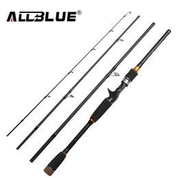 Wholesale 2017 New Fishing Rod Spinning Casting Rod 99% Carbon Fiber Telescopic 2.1M 2.4M 2.7M Fishing Travel Rod Tackle peche