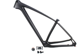 54cm frame Canada - 29er mountain bike UD carbon fiber frames MTB bicycle frameset with 142mm thru axle