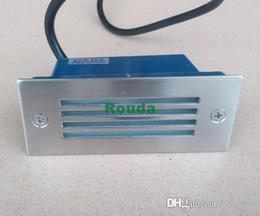 Ingrosso 110 * 45mm smd5730 luci da incasso per esterni lampada da terra 3w 110-120lm / w taiwan led epistar ROUDA