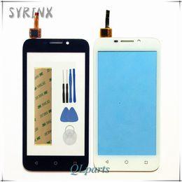 $enCountryForm.capitalKeyWord Canada - Wholesale- Syrinx High Quality For Huawei Y5 Y541 Y541-U02 Touch Screen Digitizer Sensor Panel Front Glass Touchscreen + Tools 3M Sticker