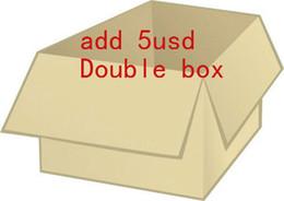 оплата за дополнительную коробку DHL сборы доставки Дизайнерская обувь сумки мешок для пыли мужчины женщины размер 35-48 большой размер плюс размер с коробкой на Распродаже