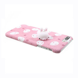 China Squishy Phone Case for iPhone 6S i6 plus 3D Cute Soft Silicone Panda Sleeping Animal Cover for iPhon 7 7plus Housing Case suppliers