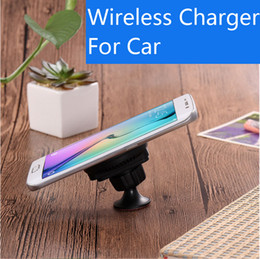 Wireless Charger Car Apple Samsung Andrews Wireless Charger Car 360-degree rotating QI wireless charging car bracket