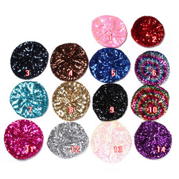 097967ca3aa Fashion Shining Sequin Beret Hat Party Stage Dance Performance Kids Adult Costume  Party Gift Glitter Beanie Cap ZA3556