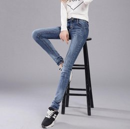 Spring Water Quality Canada - High quality Pants early spring new jeans female color was thin pants JW005 Women's Jeans